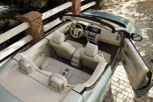 Nissan Murano CrossCabriolet, a 4-seater convertible SUV