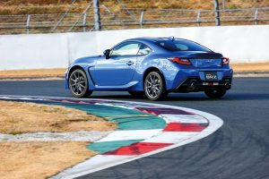 BRZ at the circuit