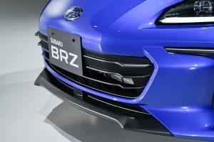 BRZ's front bumper