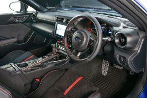 BRZ's interior
