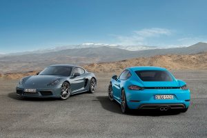 The 718 Cayman and Cayman S