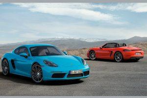 The Porsche 718 Cayman S and 718 Boxter S