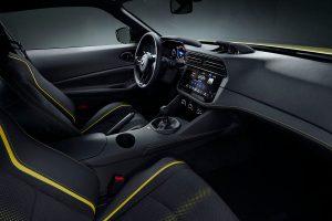 Z Proto's interior