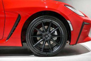 GR 86's wheel