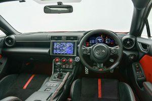 GR 86's interior
