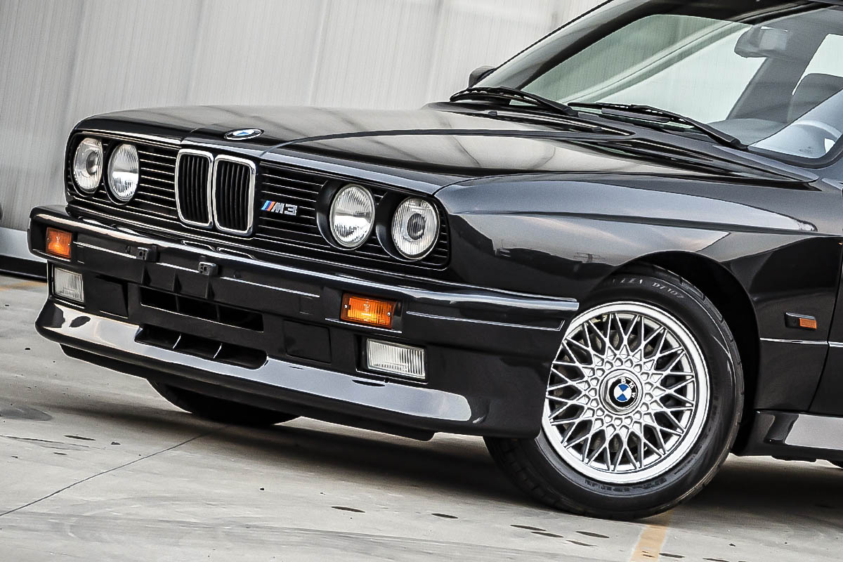 Not only the M3, but also all E30 models' prices are currently on the rise(C)2021 Courtesy of RM Sotheby's