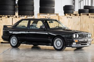 Not the Sport Evolution, nor with a dog-leg pattern, this M3 was estimated over $100,000(C)2021 Courtesy of RM Sotheby's