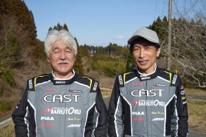 Left, Takahiro Kitami, CEO of Sanko Work's (left). Right, Masahiko Kihara, also from Sanko Work's