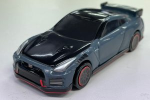 An ordinary version the Tomica-sized Nissan GT-R NISMO 2022