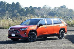 One-off Toyota RAV4 Limo Handcrafted by Toyota Factory Workers