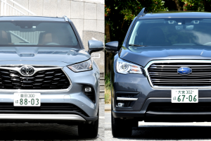 Toyota Highlander vs. Subaru Ascent: Two Three-Row SUVs Not Sold in Japan