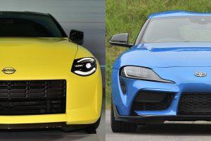 Nissan Z vs. Toyota GR Supra: Battle Between Two RWD Sports
