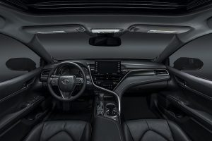 Interior of the 201 Camry XSE