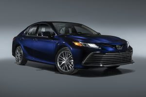 The 2021 Camry XLE