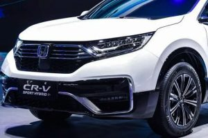Honda Launches The Plug-in Version of The CR-V in China