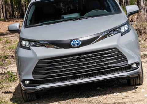 With Extra Ground Clearance, The Toyota Sienna Woodland Special Edition is The Perfect Minivan for an Adventure