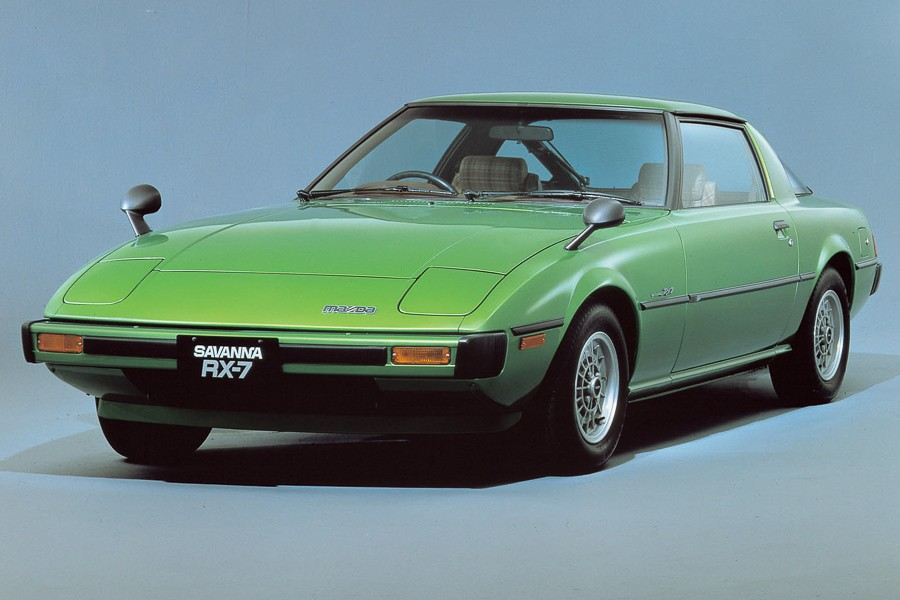 The first-generation RX-7
