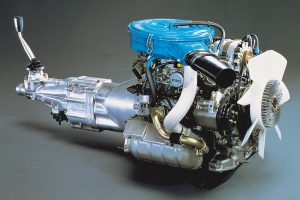 12A engine from the RX-7