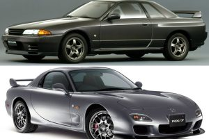 Nissan Skyline GT-R BNR32 and Mazda RX-7 FD3S: Two Cars That Led The 90's Trend