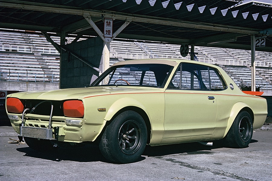 Jun-chan's Skyline is based on this race-spec Nissan Skyline 2000GT-R