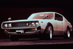 The second-generation GT-R