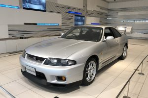 The fourth-generation GT-R