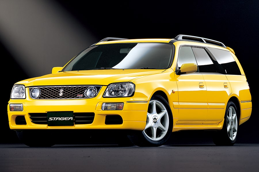Nissan's Stagea gained popularity with its good performance and ease of use