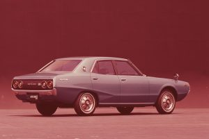 The normal model had a wide variety of body types, such as a 4-door sedan or a 5-door wagon