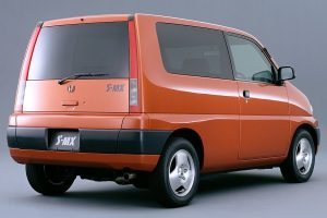 """Honda's """"tall wagon"""", the S-MX, became popular with its spacious interior and good handling"""