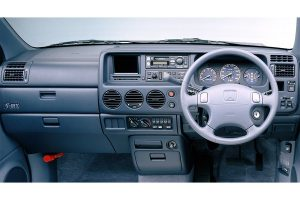 Interior of the Honda S-MX