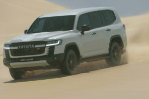 World premiere of the new Land Cruiser 300 Series