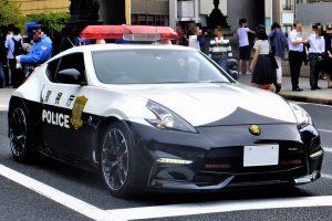 A police Fairlady Z (Z34)