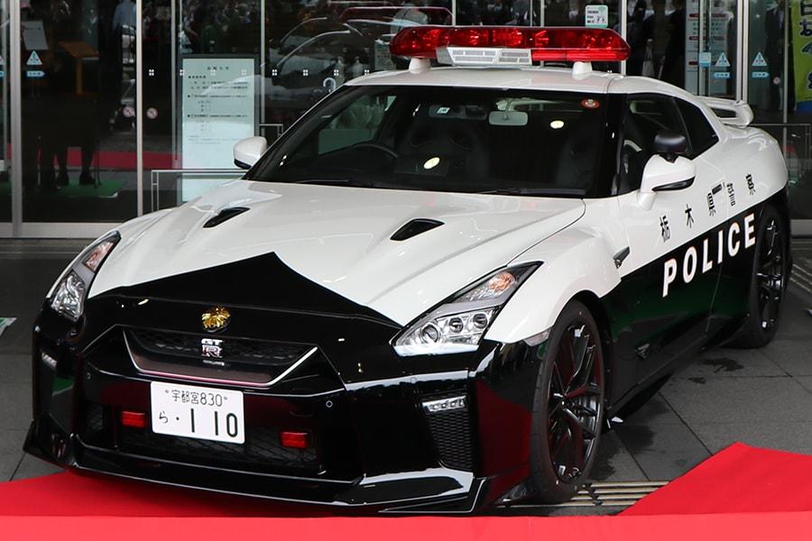 Tochigi Prefectural Police's Nissan GT-R