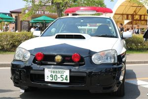 The WRC king was one of the cars that were also used by Japanese police forces