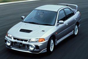 The Mitsubishi Lancer Evolution IV GSR