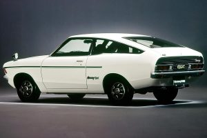 The Nissan Sunny Coupe with OHV engine had a different tail design