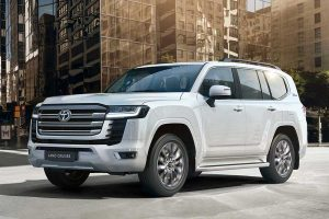 2022 Toyota Land Cruiser Can Start Its Engine with Your Fingerprint