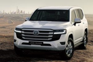 The all-new Land Cruiser