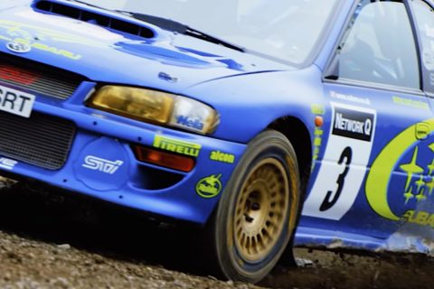 Subaru's Rally GB Winner Impreza Sold for $850,000