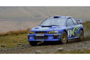 Subaru Impreza S6, winner of the Rally GB 2000
