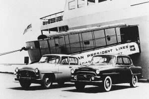 The Crown was experimentally exported to the United States in 1957