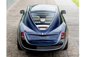 Sweptail's rear was inspired by a boat