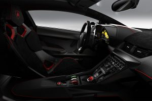 Veneno's cockpit