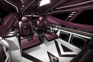 Several designs are selectable for Karlmann King's interior