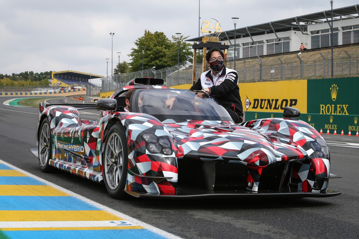 Toyota showed off its development mule of the GR Super Sport at the 88th 24 Hours of Le Mans