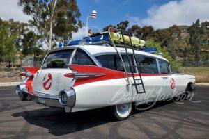 Exterior of the Ectomobile replica(photo:Barrett Jackson Auction)