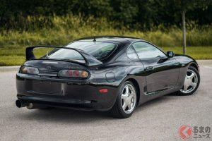 1997 Toyota Supra 15th Anniversary Edition in black sold for $176,000(photo:Barrett Jackson Auction)