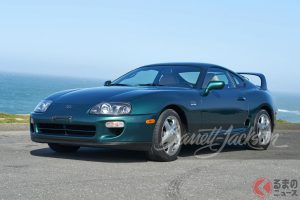 1997 Toyota Supra 15th Anniversary Edition sold for $88,000(photo:Barrett Jackson Auction)