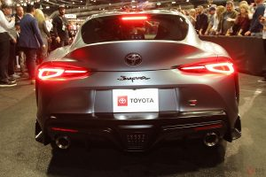 The very first production model of the GR Supra sold for $110,000