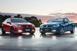 The Holden Ute with the Holden Commodore